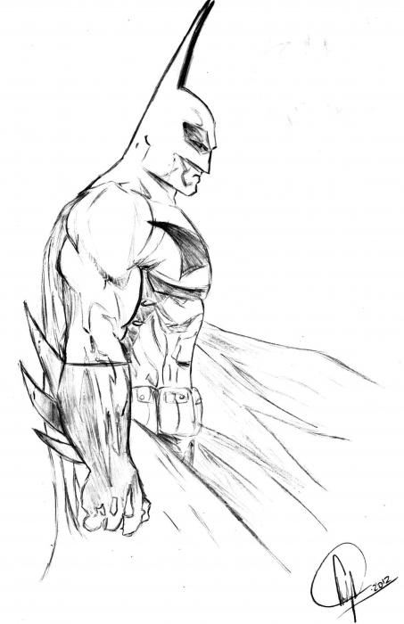 Batman par TheFlawlessCowboy